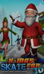 X-Mas Skate Run 3D screenshot 1/6