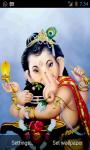 Ganesh Darshan Live Wallpaper screenshot 3/3