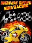 Highway Speed Bike Racing screenshot 1/2