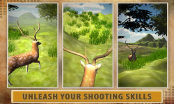 Deer Hunter: 3D Sniper Shooter screenshot 1/5