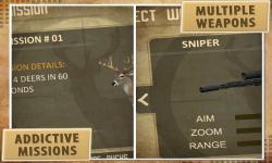 Deer Hunter: 3D Sniper Shooter screenshot 4/5