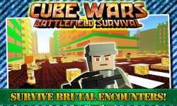 Cube Wars Battlefield Survival screenshot 1/5