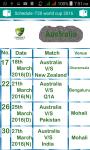 T20 Schedule 2016 screenshot 4/4