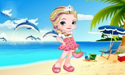 Elsa As Strawberry Dress Up screenshot 1/3