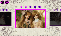 Pretty Dolls the Jigsaw Puzzle screenshot 2/4