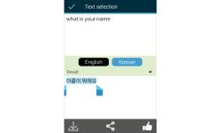 Korean to English Translator screenshot 5/5