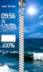 Top Summer Zipper Lock Screen Best screenshot 5/6