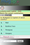 Country And Capital Quiz screenshot 2/3