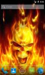 Fire Skull LWP screenshot 1/3