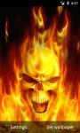 Fire Skull LWP screenshot 2/3