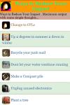 Ways to Reduce Your Impact screenshot 2/3