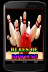 Rules of Bowling screenshot 1/3