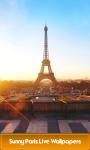 Sunny Paris Live Wallpapers screenshot 1/6
