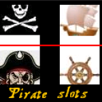Pirates slot machine screenshot 1/3