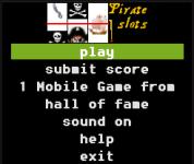 Pirates slot machine screenshot 3/3
