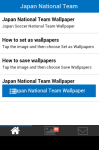 Japan National Team Wallpaper screenshot 2/5