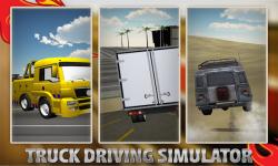 Heavy Duty Truck Simulator 3D screenshot 4/5