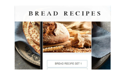 Bread recipes food screenshot 1/3
