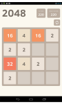 Game 2048 screenshot 2/3