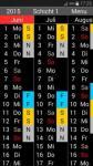 Schichtkalender full screenshot 1/6