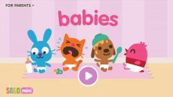 Sago Mini Babies rare screenshot 1/6