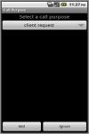 CallPurposeAd screenshot 2/3