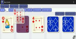Blue Cards - a Deck of Cards screenshot 6/6