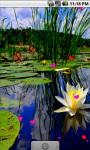 Water Lily Lotus Live Wallpaper screenshot 2/4