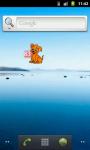 Sweet puppy battery widget HQ screenshot 1/4
