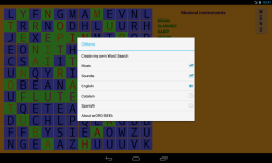 Word Search puzzle wORD SEEk screenshot 2/4