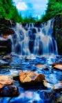 Abstract Waterfall Live Wallpaper screenshot 1/3