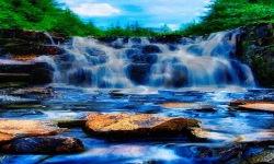 Abstract Waterfall Live Wallpaper screenshot 2/3