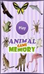 The Animals Memory Game screenshot 1/4