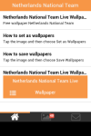 Netherlands National Team Wallpaper screenshot 2/6