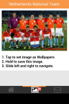 Netherlands National Team Wallpaper screenshot 5/6