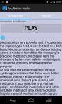 Meditation Audio screenshot 1/2