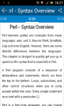 Learn Perl screenshot 3/3