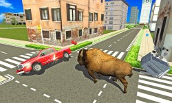 Angry Bison Attack in City 3D screenshot 3/3
