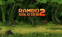 Soldiers Rambo 2: Forest war Unlimited screenshot 1/3