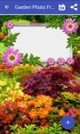 Garden photo frame screenshot 1/4