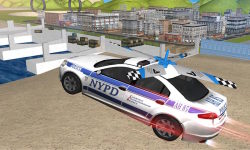 Flying Police Car Driver 3D screenshot 2/4