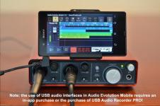 Audio Evolution Mobile Studio perfect screenshot 5/6