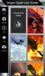 Dragon Zipper Lock Screen Best screenshot 4/6