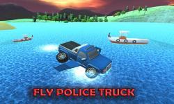 Flying Submarine Police Truck screenshot 2/3