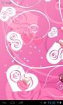 Pink hearts lwp screenshot 3/3