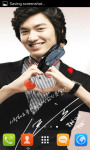 Lee Min Ho Live Wallpaper Best screenshot 3/4