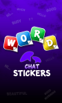 Word sticker Whatsapp screenshot 1/4