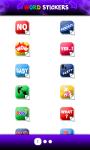Word sticker Whatsapp screenshot 2/4