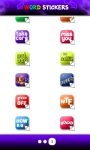 Word sticker Whatsapp screenshot 4/4