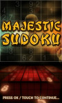 Majestic Sudoku - Master screenshot 1/4
